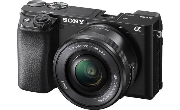 Sony Alpha a6100 Kit Front