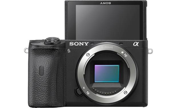 Sony Alpha a6600 (no lens included) Shown with touchscreen facing forward