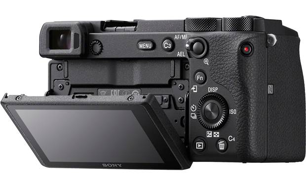 Sony Alpha a6600 (no lens included) Shown with touchscreen tilted downward