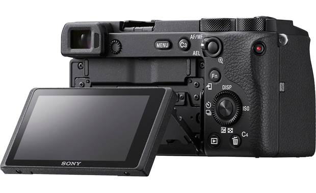 Sony Alpha a6600 (no lens included) Shown with touchscreen tilted upward