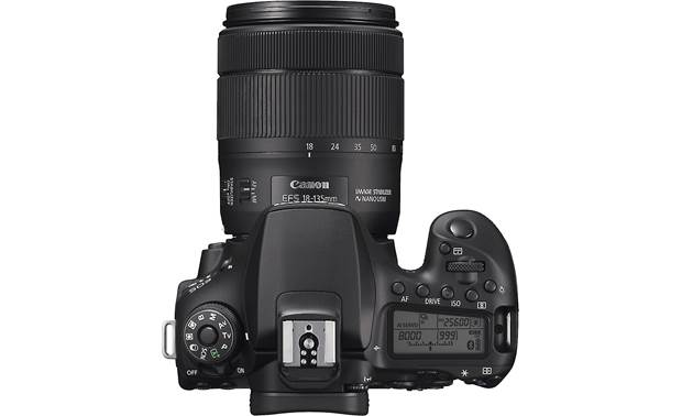 Canon EOS 90D Telephoto Lens Kit Top