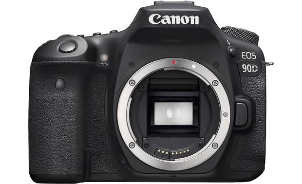 Canon EOS 90D (no lens included) Front