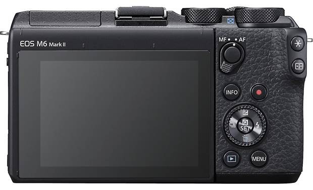 Canon EOS M6 II Kit Back