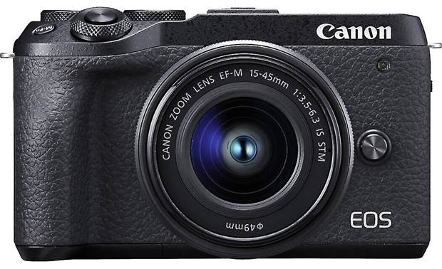 Canon EOS M6 II Kit Front, straight-on