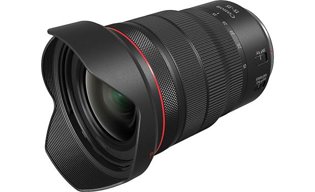 Canon RF 15-35mm f/2.8L IS USM Shown with included hood