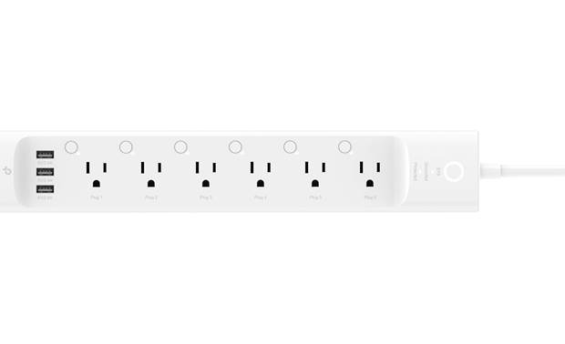 TP-Link HS300 Smart Power Strip There's plenty of room for bulky plugs