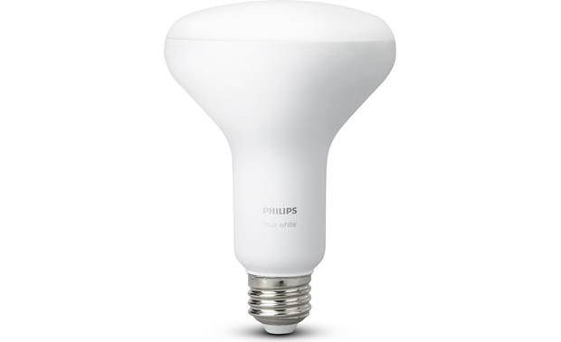 Philips Hue White Ambiance BR30 Bulbs Bulbs have a BR30 form factor with an E26 fitting that will fit most standard sockets