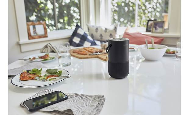 Bose® Portable Home Speaker Delivers spacious, 360° sound
