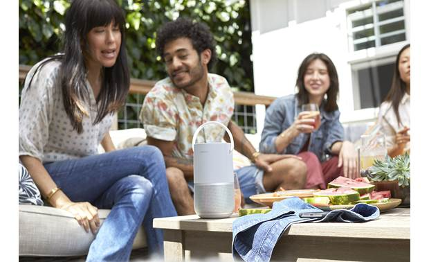 Bose® Portable Home Speaker Enjoy spacious 360° outdoor sound