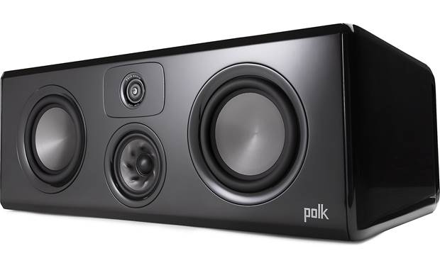 Polk Audio Legend L400 Angled view with grille removed