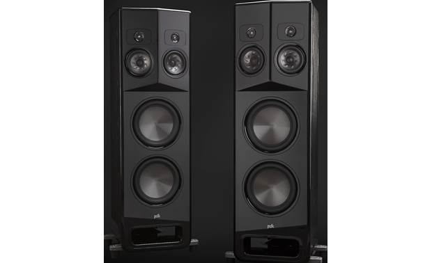 Polk Audio Legend L800 Shown as a pair with grilles removed