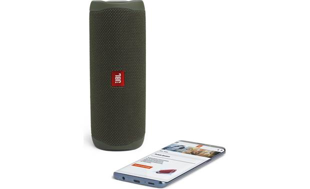 JBL Flip 5 Green - stream via Bluetooth (smartphone not included)