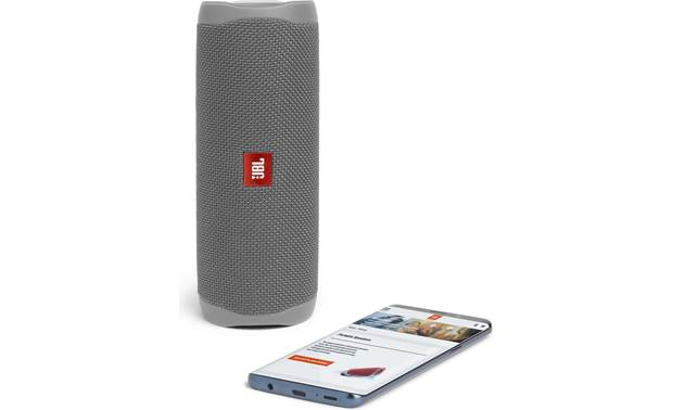 JBL Flip 5 Grey - stream via Bluetooth (smartphone not included)