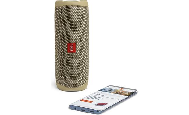 JBL Flip 5 Sand - stream via Bluetooth (smartphone not included)