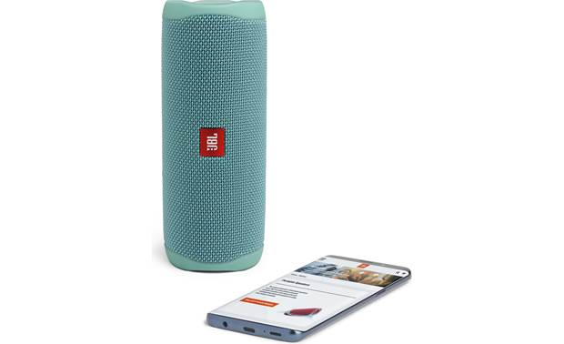 JBL Flip 5 Teal - stream wirelessly via Bluetooth (smartphone not included)