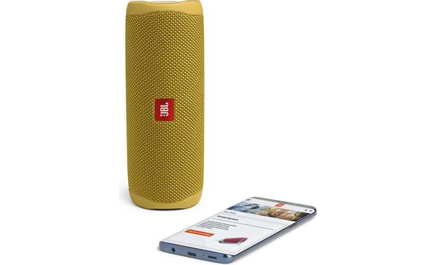 JBL Flip 5 Yellow - stream via Bluetooth (smartphone not included)
