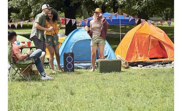 JBL PartyBox 100 Take it along camping