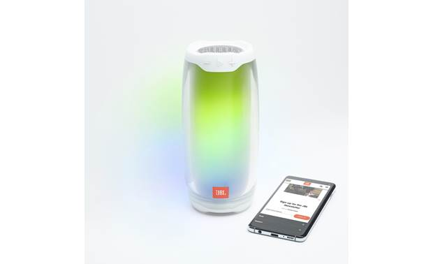 JBL Pulse 4 Stream wirelessly via Bluetooth (smartphone not included)