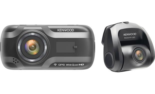 Kenwood DRV-A501WDP Built-in Wi-Fi lets you view recorded video on your paired smartphone