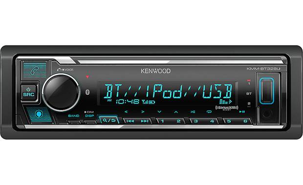 Kenwood KMM-BT328U Make hands-free calls and stream from your favorite music apps