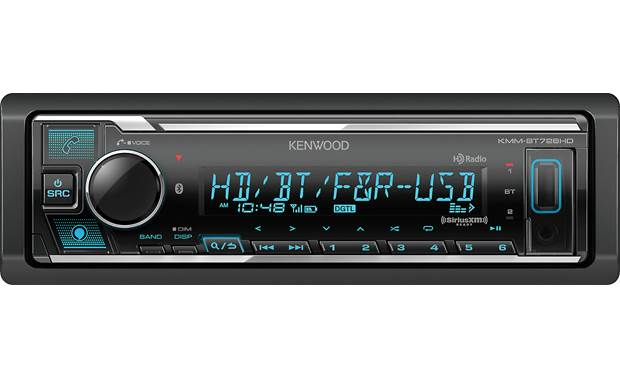 Kenwood KMM-BT728HD Make Amazon Alexa your onboard copilot
