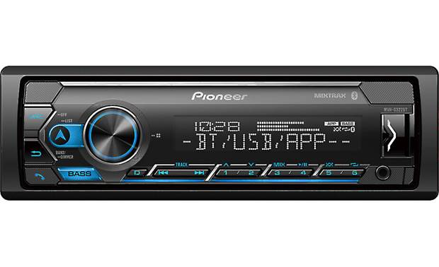 Pioneer MVH-S322BT Pioneer prioritizes smartphone integration with their Smart Sync app