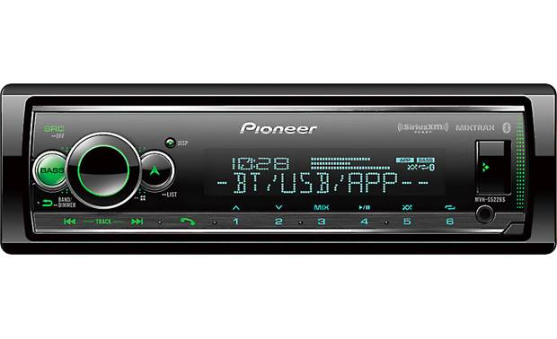 Pioneer MVH-S522BS Pioneer gives you over 200,000 colors to choose from to match your vehicle's dash lights.