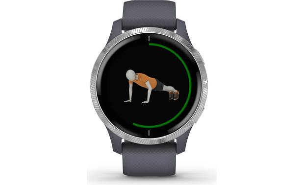 Garmin Venu Animated workouts