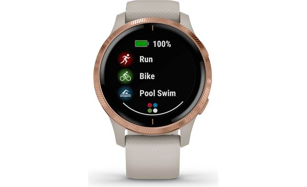 Garmin Venu Preloaded sports apps