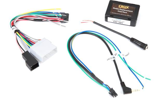 Crux SWRSU-38A Wiring Interface Front