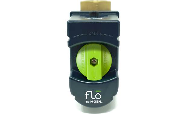Flo by Moen Smart Water Valve If Flo senses an extreme leak, it will automatically shut off the water supply to prevent damage