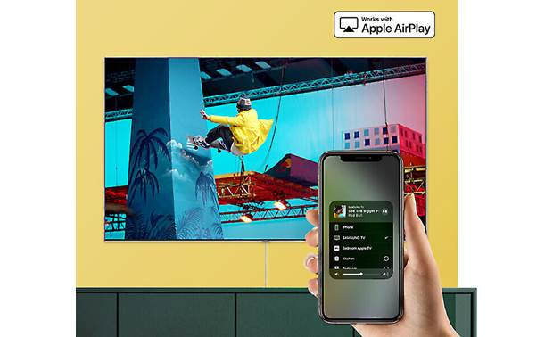 Samsung QN32Q50R Compatible with Apple AirPlay 2