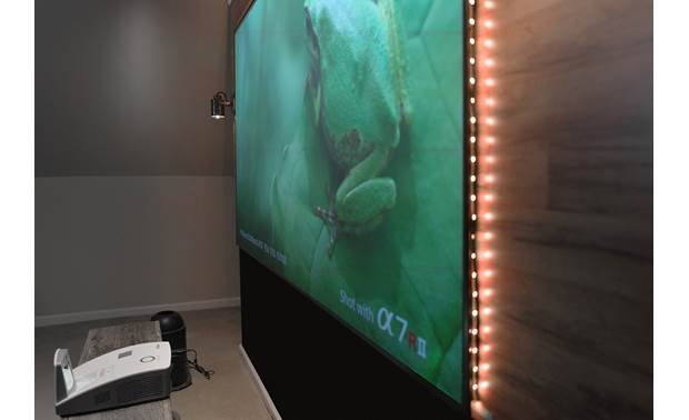 Elite Screens Aeon CLR® Designed for use with ultra-short-throw projectors