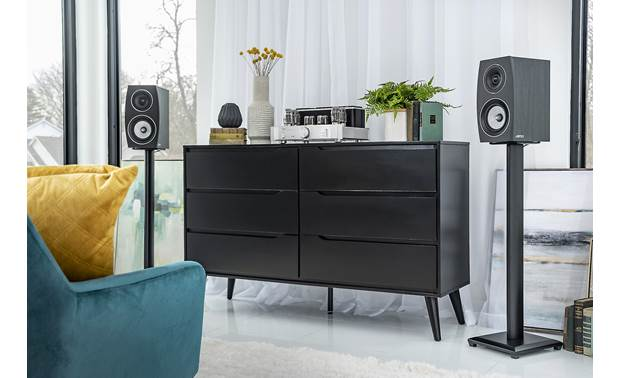 Jamo Concert 9 Series C 93 II Shown as part of a hi-fi stereo system