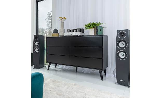 Jamo Concert 9 Series C 95 II Shown as part of a hi-fi music system