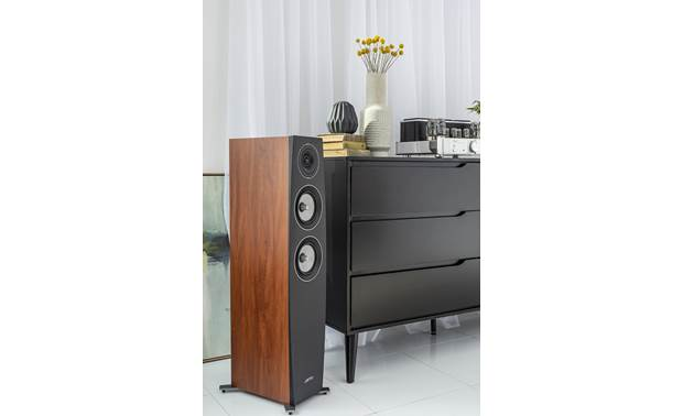 Jamo Concert 9 Series C 95 II Shown in room with grille removed
