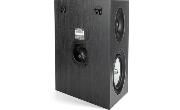 Jamo Concert 9 Series C 9 SUR II Wall-mount your speakers with the included rear-mounted keyhole slots