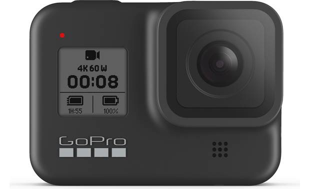 GoPro HERO8 Black Action Camera Front screen helps you monitor settings and functions