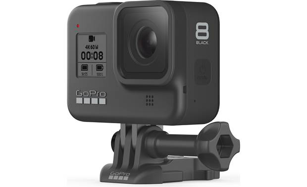 GoPro HERO8 Black Action Camera Mount included