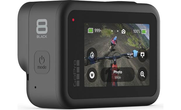 GoPro HERO8 Black Action Camera Control the action with quick buttons on the 2