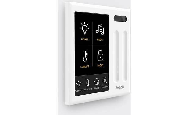 Brilliant Smart Home Control The built-in camera has a privacy slider
