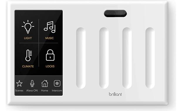 Brilliant Smart Home Control Front