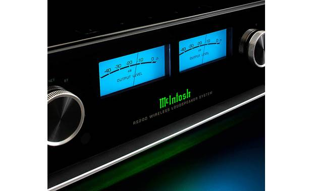 McIntosh RS200 Classic McIntosh design with glass front panel and working meter dials