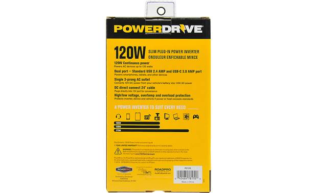 PowerDrive PD120 Other