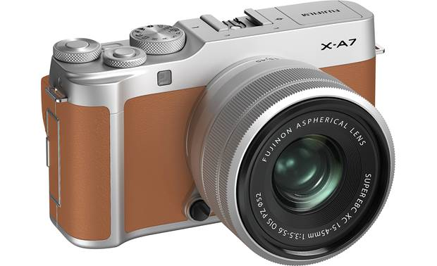Fujifilm X-A7 Kit Angled front view