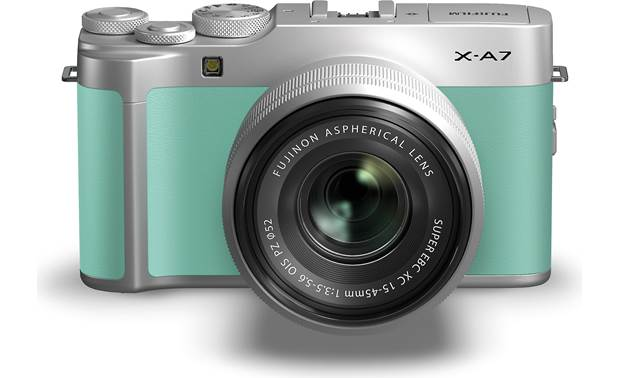 Fujifilm X-A7 Kit Front view