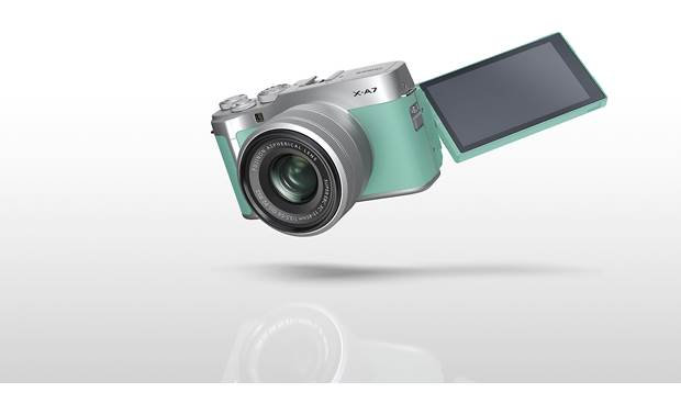 Fujifilm X-A7 Kit Customizable rotating touchscreen