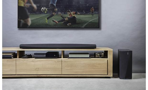 Denon Home Theater System with HEOS Built-in Sound bar and subwoofer (TV and components not included)