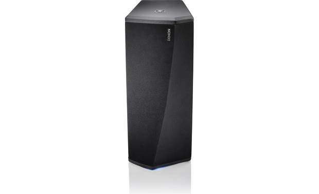 Denon Home Theater System with HEOS Built-in Subwoofer can be placed vertically or horizontally