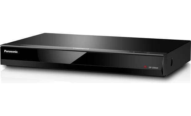 Panasonic DP-UB420 Compact 4K Blu-ray player with HDR and built-in Wi-Fi for 4K streaming